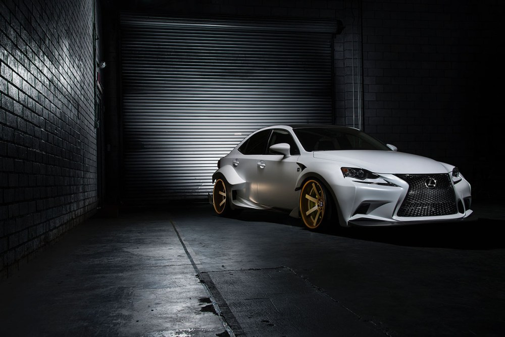 2014 IS 350 F SPORT by Rob Evans, DeviantArt winner, and VIP Auto Salon