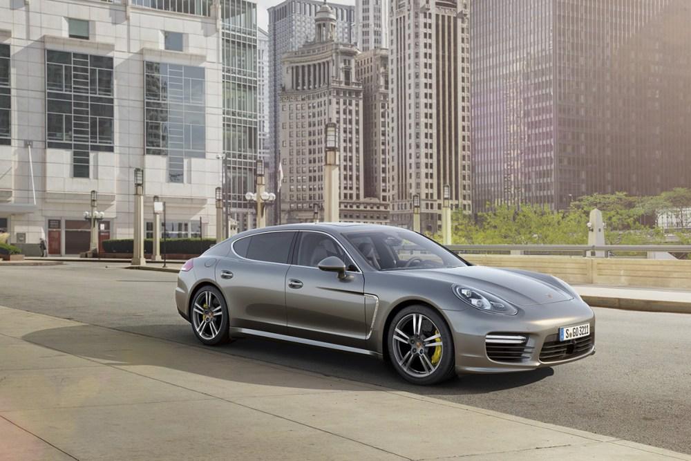 Porsche Panamera Turbo S and Turbo S Executive
