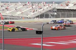 Ferrari Challenge Crash