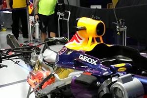 Red Bull F1 V-8 Exhaust