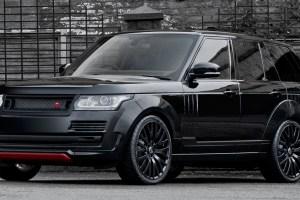 A Kahn Design Range Rover Vogue 600 LE