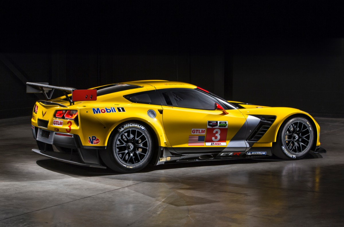Win on Sunday, Sell on Monday – Chevrolet Corvette C7 R