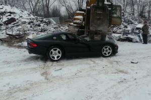Dodge Viper Crushed