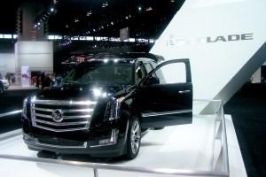 Cadillac Escalade at the 2014 Chicago Auto Show
