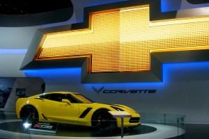 Chevrolet Corvette at the Chicago Auto Show (3)