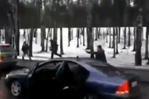 Friday FAIL Russian Road Rage Shootout