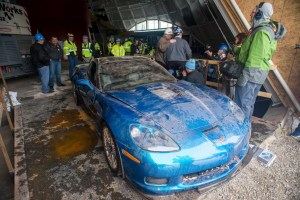 "Corvette ZR-1 ""Blue Devil"" Sinkhole Recovery"