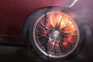 Lexus SC Burnout