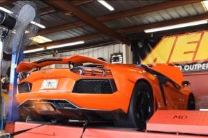 Lamborghini Dyno NOS