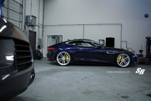 Jaguar F-Type R Coupe with PUR RS07 Forged Wheels
