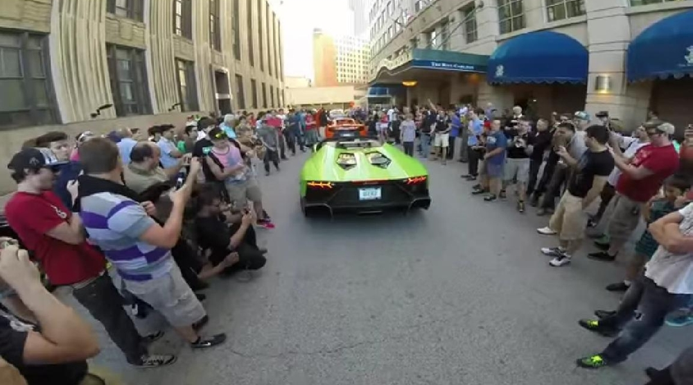 Lamborghini Aventador Exhaust