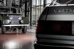 A Kahn Design Land Rover Series I Defender