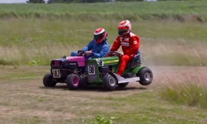 Kimi Lawnmower racing