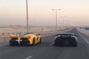Ferrari LaFerrari vs Lamborghini Sesto Elemento