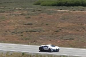Bugatti Veyron Super Sport Pur Blanc 246.4 mph