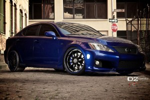 Lexus IS F D2Forged FMS05 Wheels