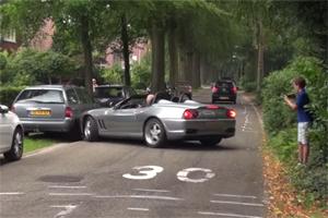 Friday FAIL Ferrari 550 Barchetta