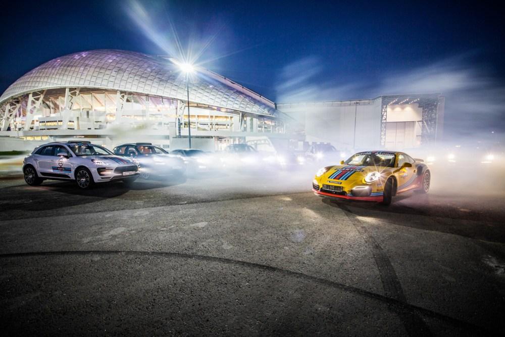 Porsche Martini Livery Sochi