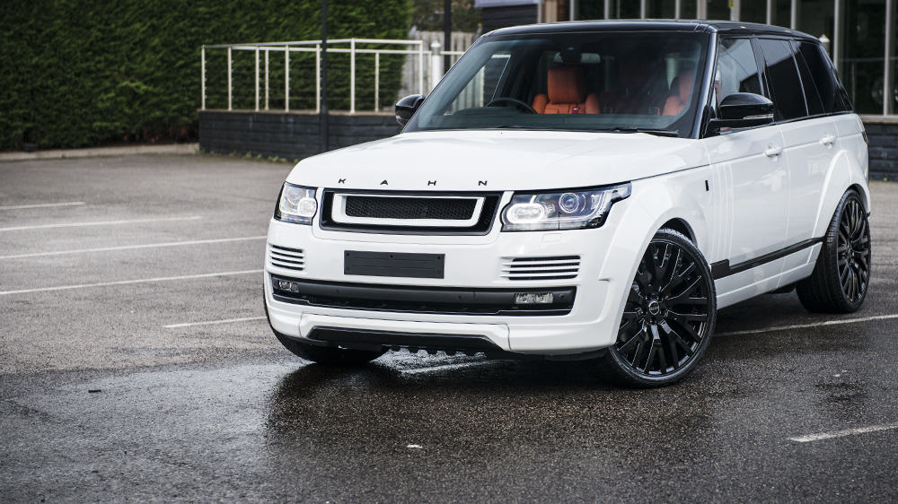 A Kahn Design Fuji White Range Rover 4.4 SDV8 Autobiography LWB RS-600 Performance Edition