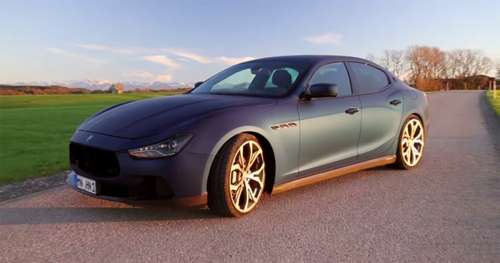 Novitec Tridente Maserati Ghibli Video