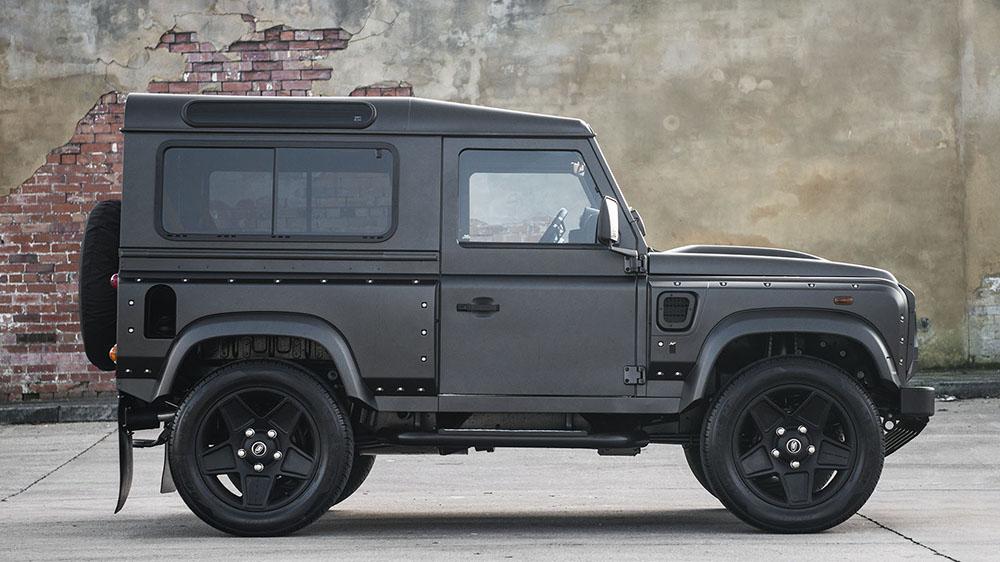 Land Rover Defender Chelsea Wide Track