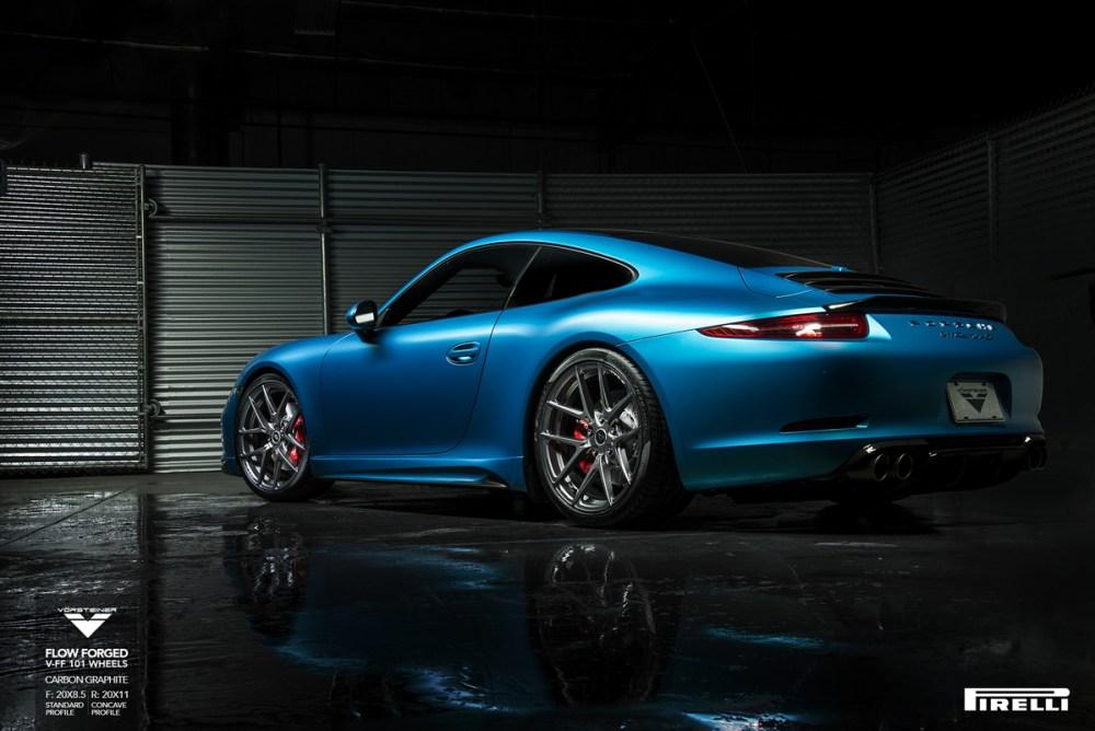 Porsche 911 Carrera S Vorsteiner V-FF 101 Flow Forged Wheels (7)