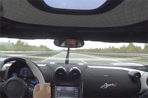 Koenigsegg Agera R 215 mph Autobahn