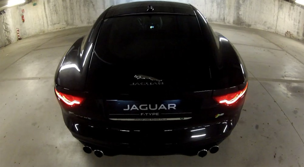 Jaguar F-Type R Coupe Exhaust Note