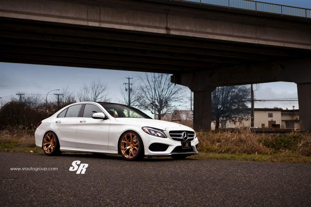 SR Auto Group Mercedes-Benz C300 PUR RS04 Wheels