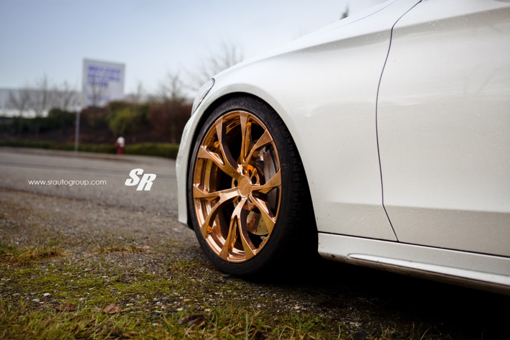 SR Auto Group Mercedes-Benz C300 PUR RS04 Wheels