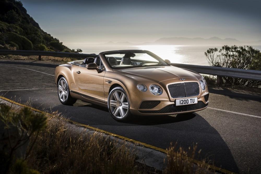 2016 Bentley Continental Range