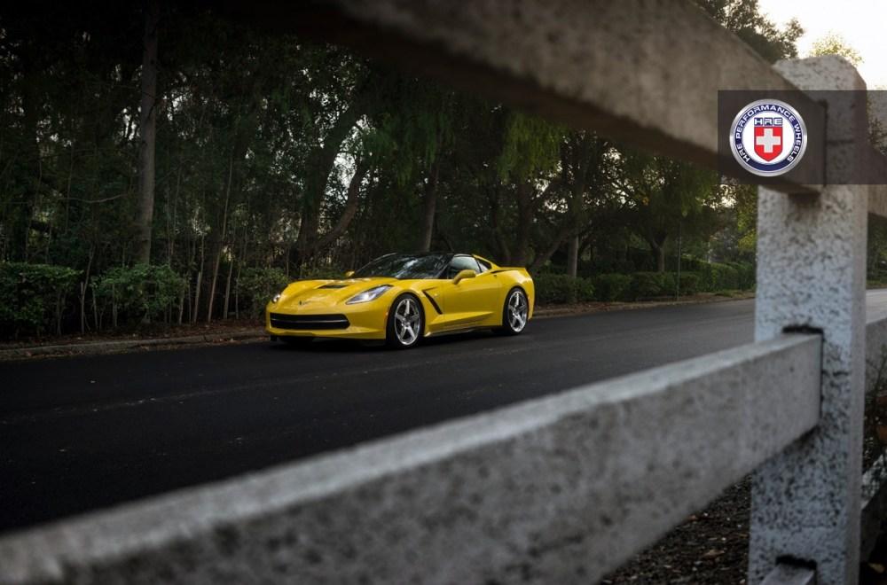 C7 Corvette Stingray HRE RS105 Forged Wheels