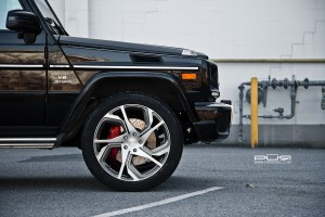 Mercedes-Benz G63 AMG with PUR RS12 Forged Wheels