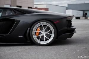 Lamborghini Aventador with PUR LX04.V3 Forged Wheels