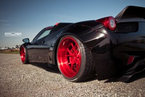 Liberty Walk Widebody Ferrari 458 Spider PUR LG06 Forged Wheels