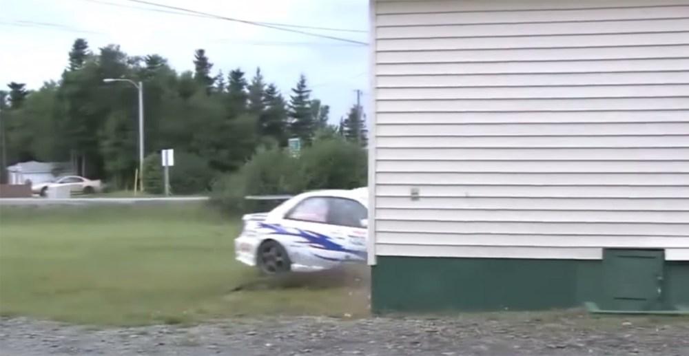 Friday FAIL Subaru Rally Crash