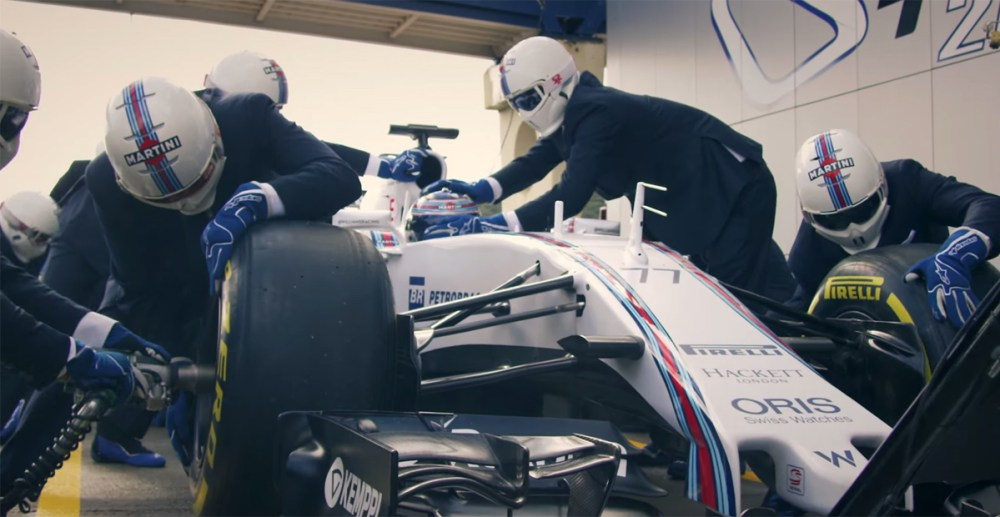 Williams-Hackett F1 Pit Stop