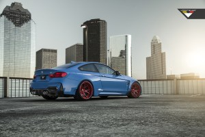 Vorsteiner GTRS4 BMW M4 Yas Marina Blue