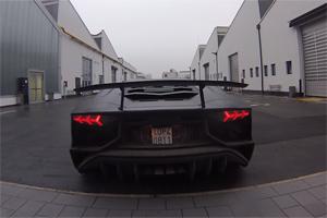 Lamborghini Aventador LP 750-4 SV Acceleration