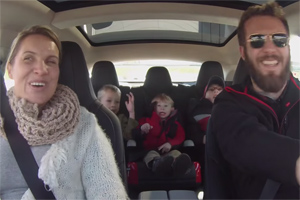 Dream Drives for Kids Tesla Model S P85D