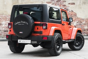 Chelsea Truck Company Jeep Wrangler CJ300 Orange