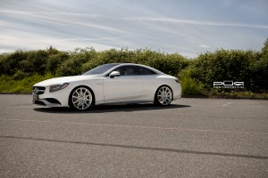 Mercedes-Benz S63 AMG Coupe PUR RS111 Forged Wheels