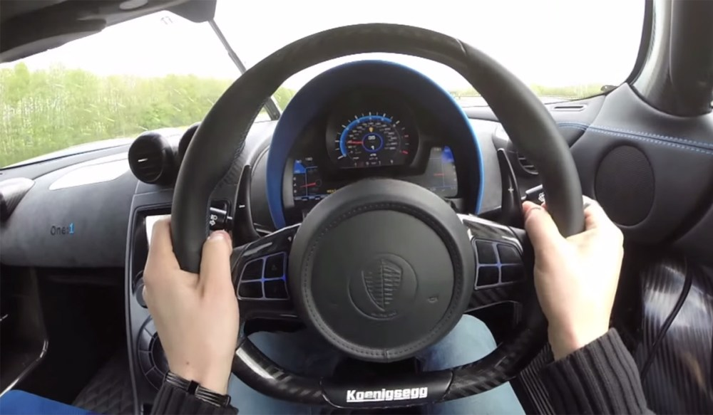 Koenigsegg One:1 Speed Run