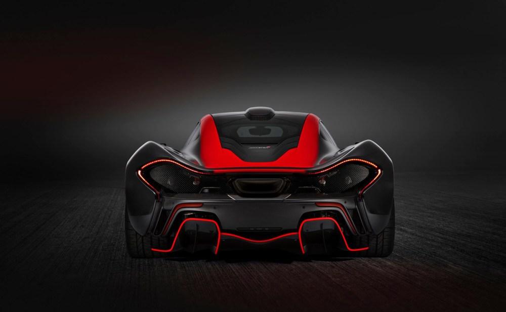 Black and Red MSO McLaren P1
