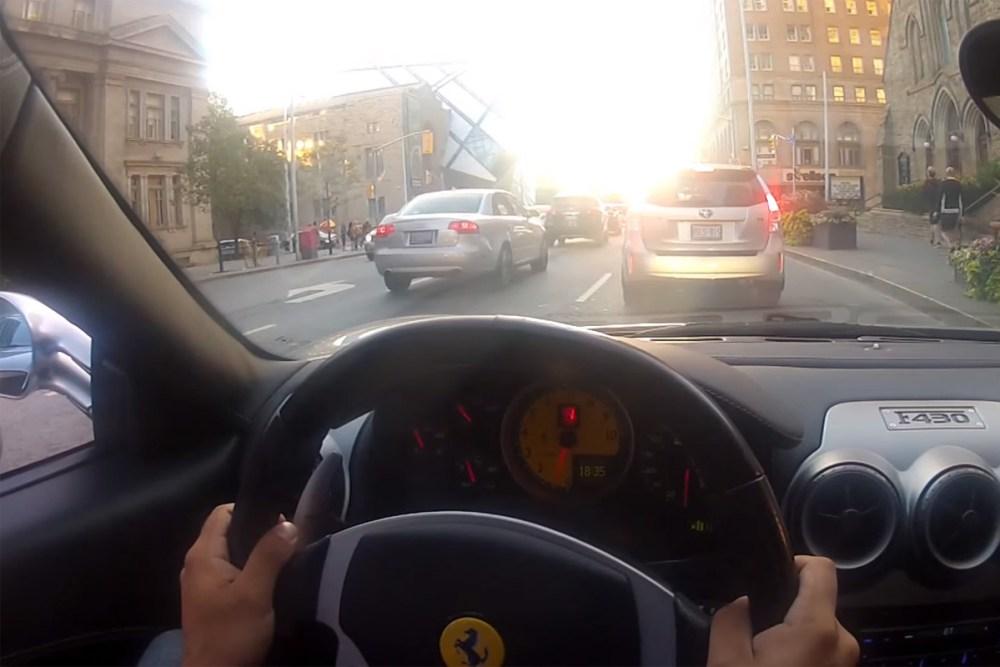Ferrari F430 Reactions