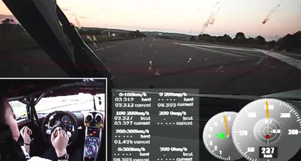 Koenigsegg One:1 World Record