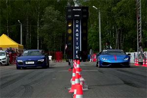 Lamborghini Huracan vs Audi R8 V10