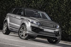 Orkney Grey Range Rover Evoque RS Sport
