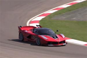 Four Ferrari FXX K IMOLA