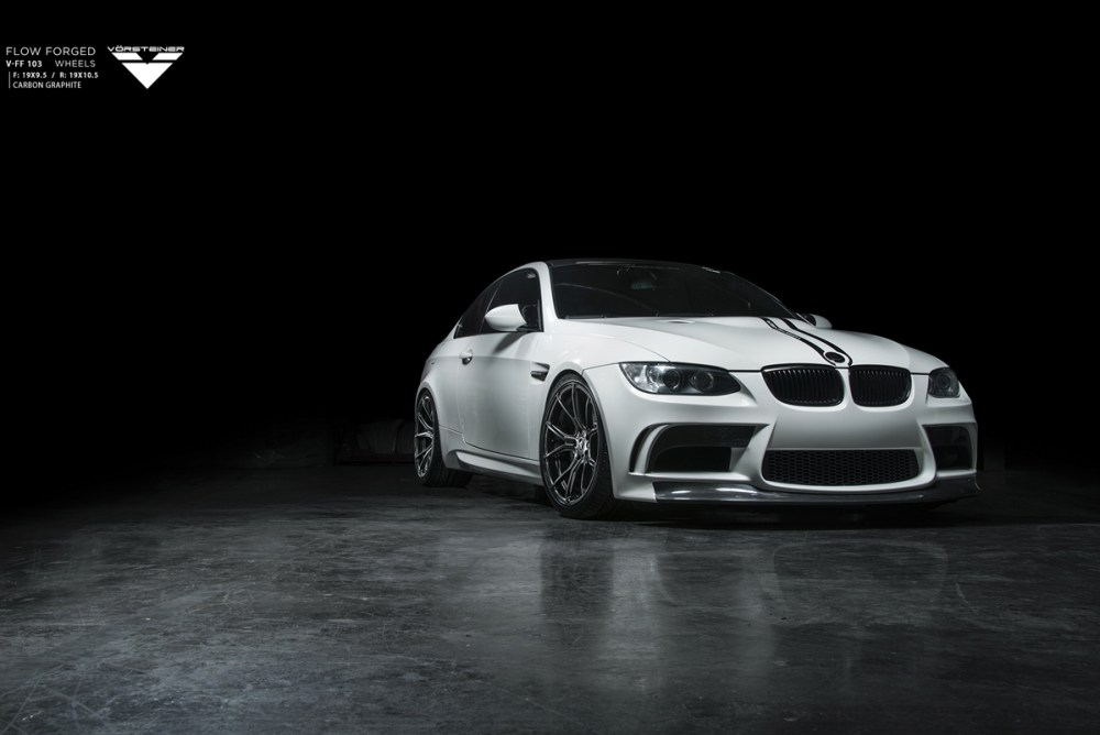 E92 BMW M3 Vorsteiner V-FF 103 Flow Forged Wheels